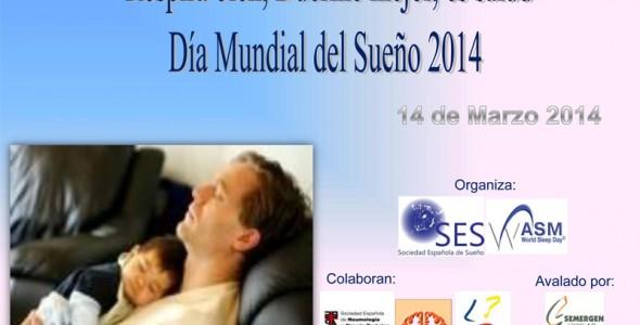 """Día Mundial del Sueño, 14 de Marzo: """"Respira bien, Duerme mejor, es Salud"""""""