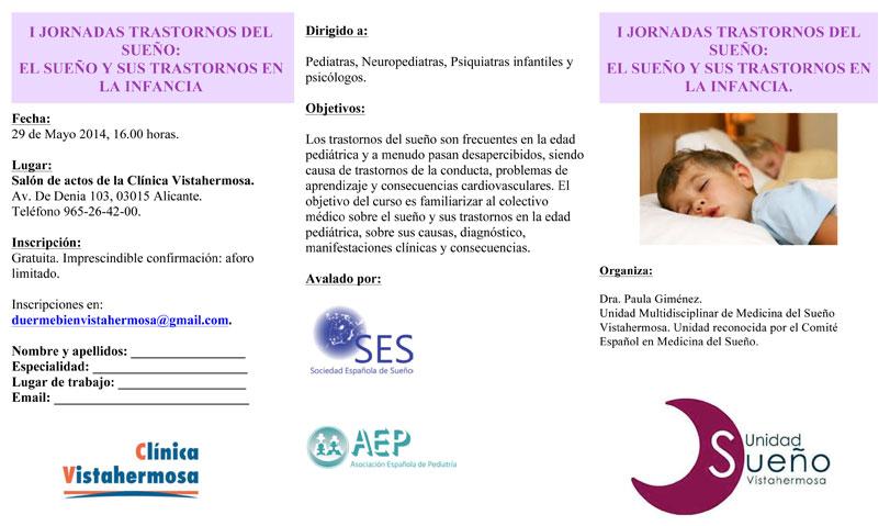 Programa Jornada de Trastornos del Sueño: El Sueño y sus Trastornos