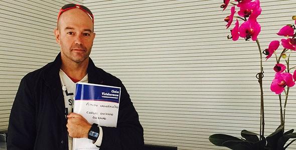 Monitorizamos el sueño y las variables biológicas del Triatleta Carlos Guerrero durante el Ironman de Cozumel