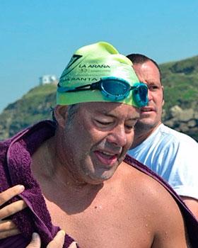 Estudiamos el Sueño de Jorge Crivilles, un nadador de aguas abiertas